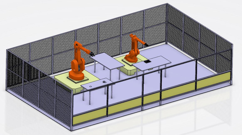 ENIM Robotic cell